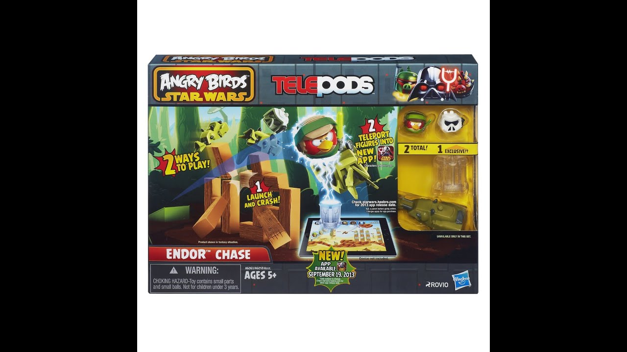 angry birds go telepods how to use