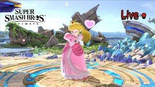 Super Smash Bros. Ultimate LIVE!  Online 1v1s!