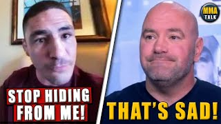 EMOTIONAL Diego Sanchez SENDS MESSAGE to Dana White after UFC release, Weidman on leg amputation