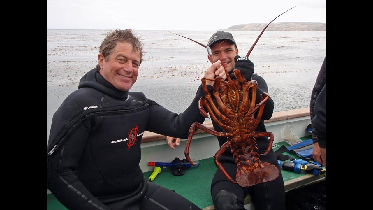 October 2013 California Spiny Lobster Diving Salt Water