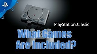 Playstation Classic Console Games - 15 Games That Should be Included
