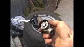 Замена карданчика кулисы ВАЗ 2110 на калиновский