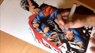 How to Draw Superman + Q & A (Instagram Livestream)