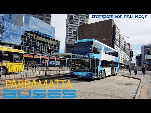 Transport for NSW Vlog No.1097 Parramatta Buses part 3