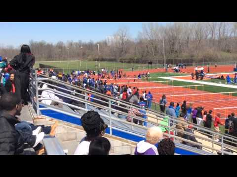 100m Hurdle Final at Jackie Joyner Kersee Relays