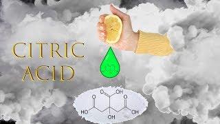 Citric Acid from Lemons!!!