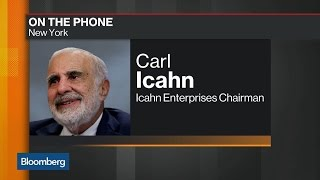 Carl Icahn Talks Trump, EPA Rules, Asset Markets and AIG