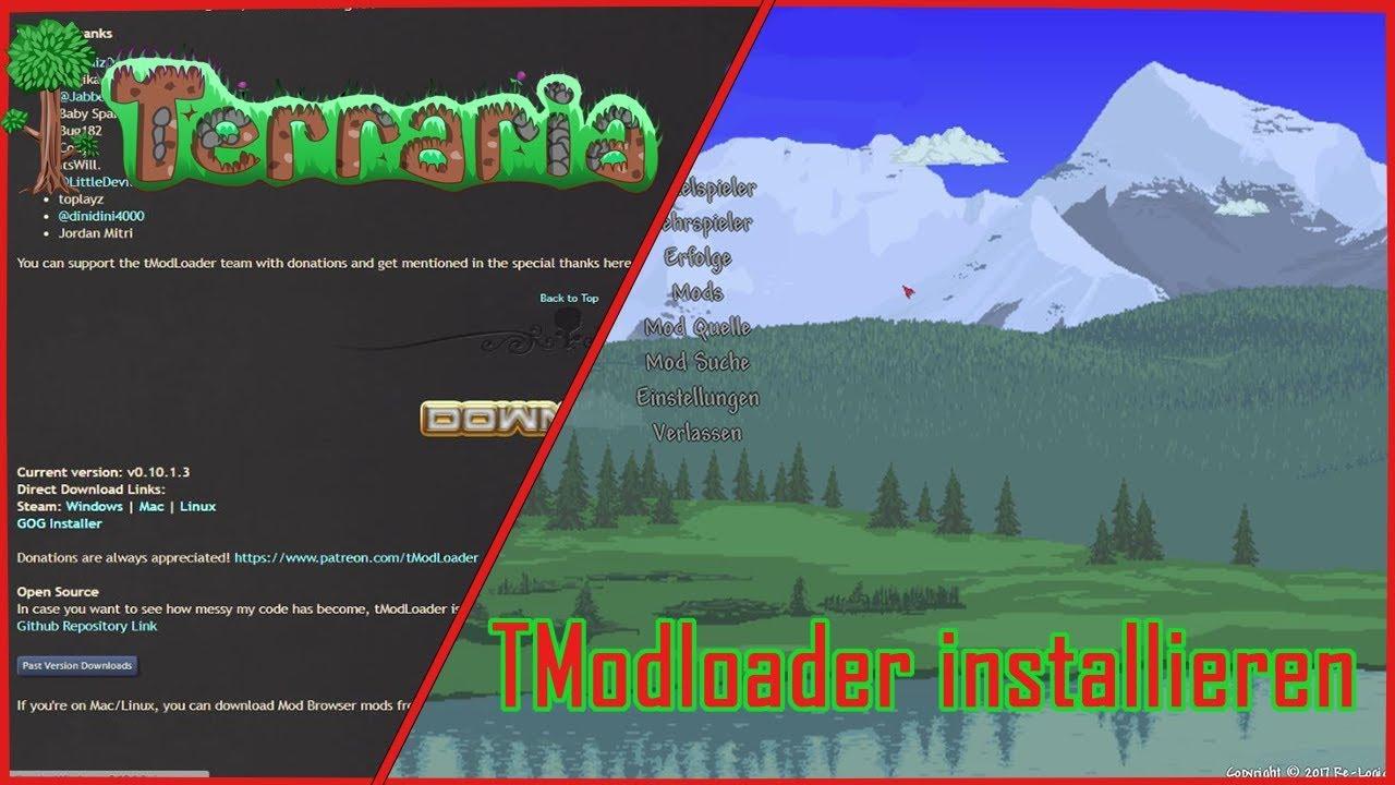Wie installiert man den Terraria TModloader ? [Tutorial]