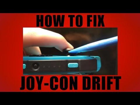 How to fix joystick drift on Nintendo Switch Joycons!