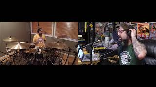 Mike Portnoy Drum & Vox Cam - Flying Colors Love Letter (THIS IS A SPLIT HEADPHONE MIX!)
