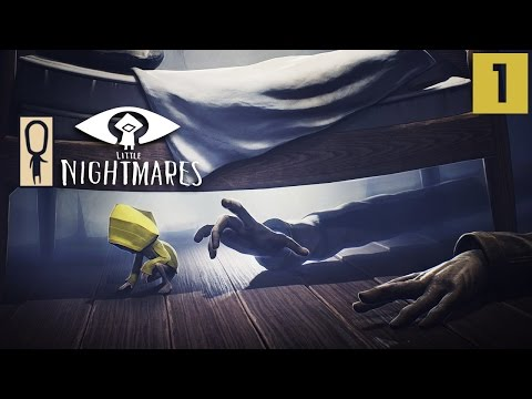 LITTLE NIGHTMARES Gameplay - Part 1 - Trapped In The Maw - Let's Play Walkthrough