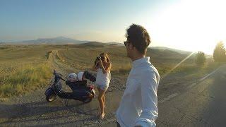 Toscana on the road | Vespa PX 150 | Tuscany road trip