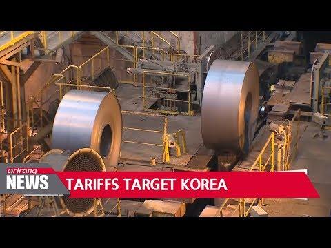 U.S. proposal would slap 53% tariff on Korean steel, but not other U.S. allies