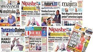 LIVE: Kangi Lugola Atumbuliwa Jukwaani/Lissu Amtumia Ujumbe Hakimu Kisutu