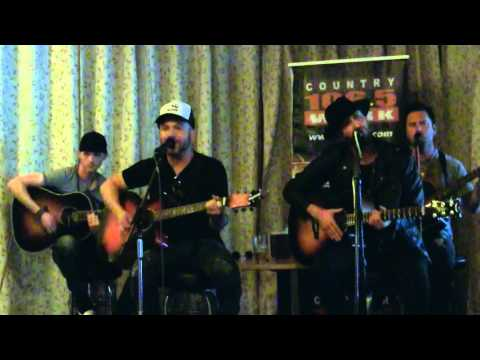 LOCASH Acoustic Performance of 'Drunk, Drunk' in Buffalo