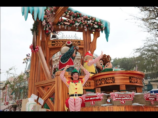 A Christmas Fantasy Parade: Rain Edition