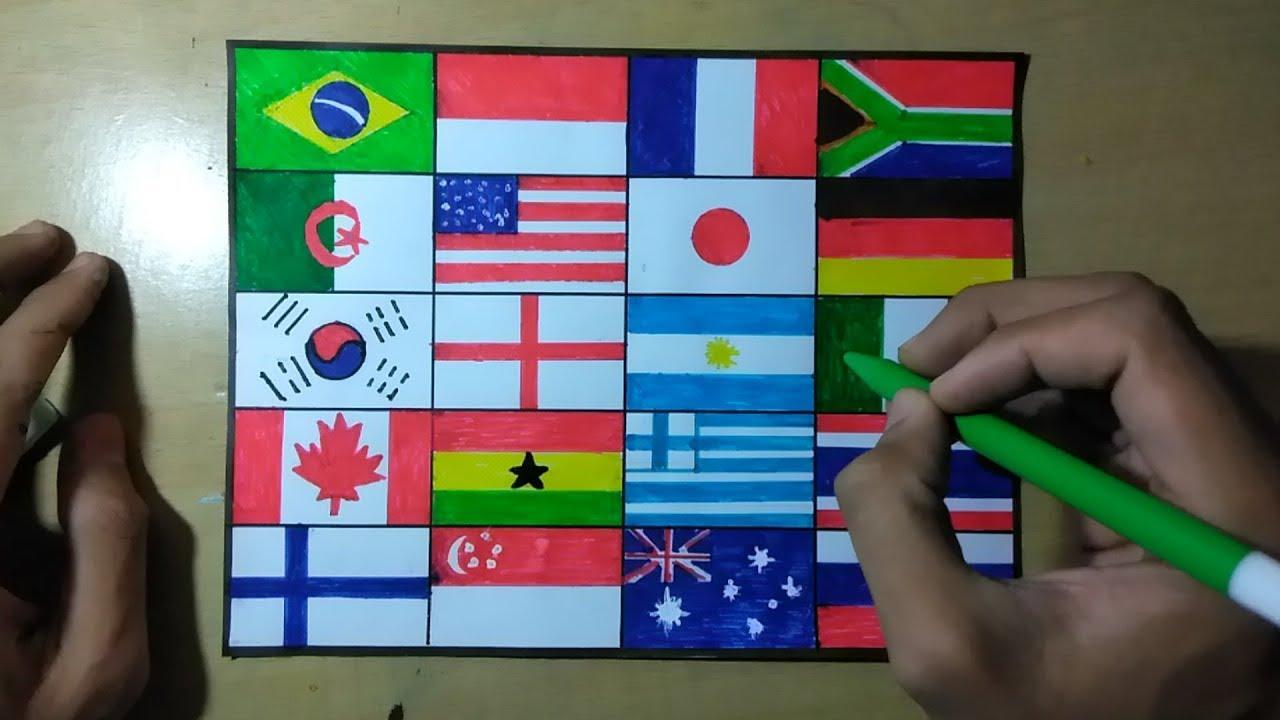 Bendera Negara Di Dunia Dan Namanya