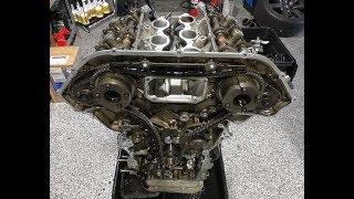 JRP Nissan GTR R35 VR38Dett Disassembly