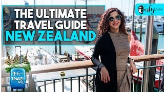 The Ultimate Travel Guide - New Zealand | Curly Tales | #KamiyaJani