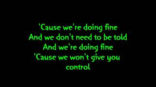 Sum 41 - Subject to Change (lyrics)