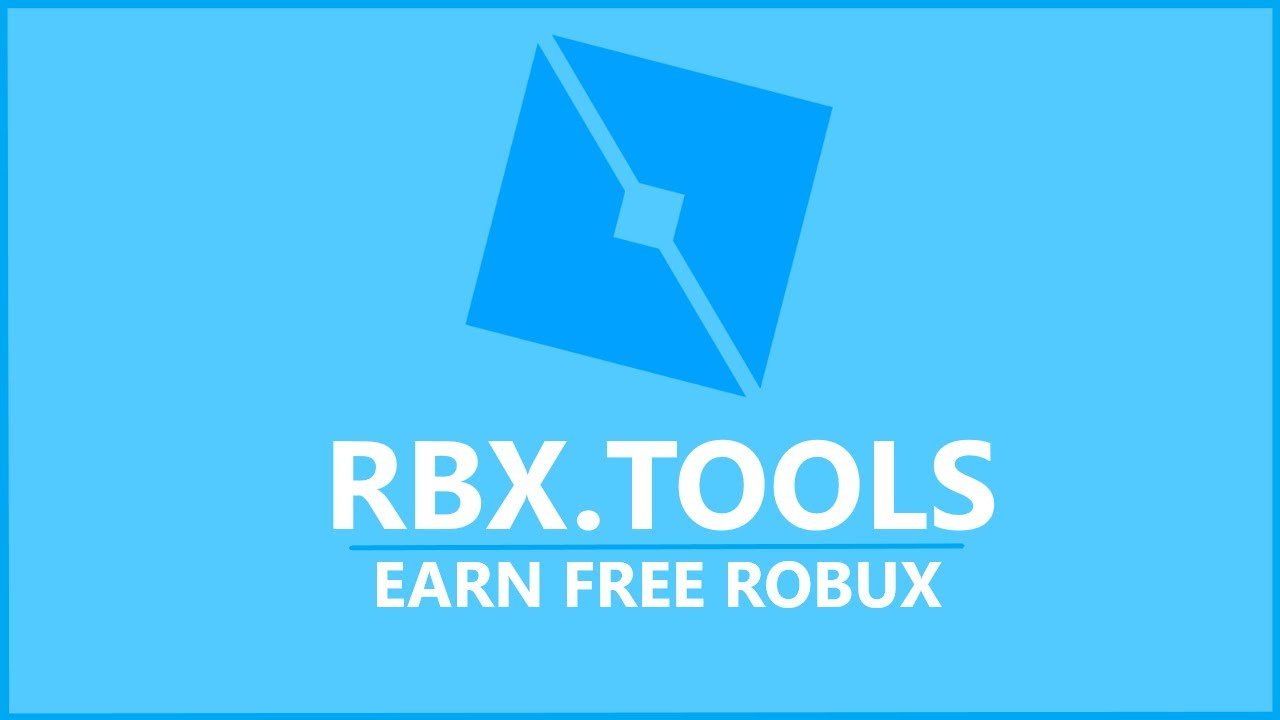 RBX Tools - Earn FREE Robux! (3,000 Giveaway)