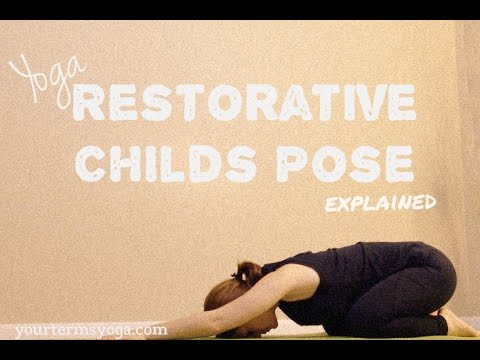 relaxing easy yoga  childs pose  youtube