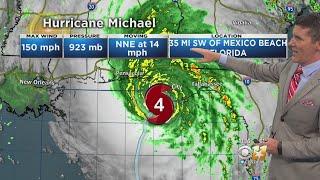 Tracking Hurricane Michael