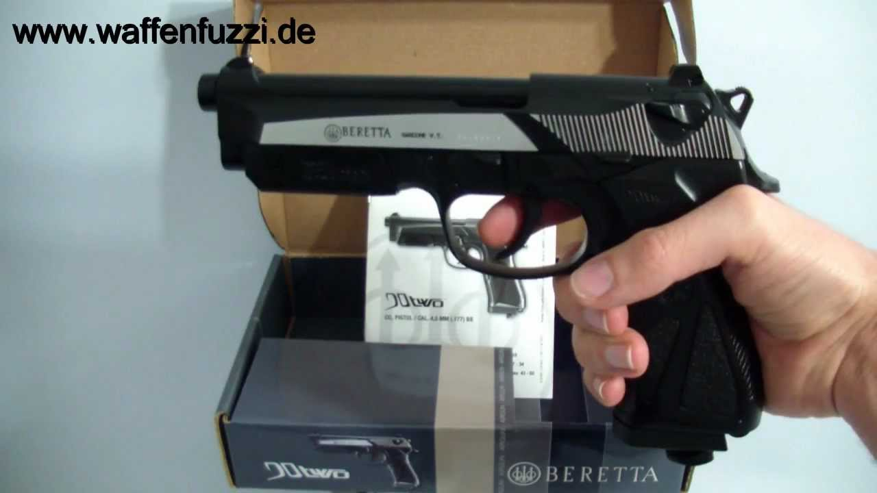 CO² Pistole Beretta 90Two 4,5mm BB - Schreckschuss ...