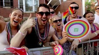 Awesome Gay Wedding At DC Pride Parade! | What