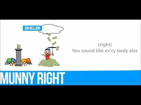 Munny Right - Jon Bellion (Lyrics)