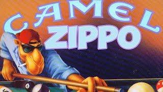 Зажигалка ZIPPO JOE CAMEL. Обзор.