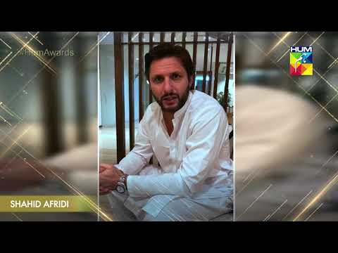Hello Toronto by Shahid Afridi | Kashmir 6th Hum Awards 2018