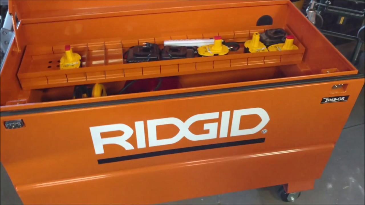 Jobsite Tool Box >> RIDGID 2048 Box Locks - YouTube