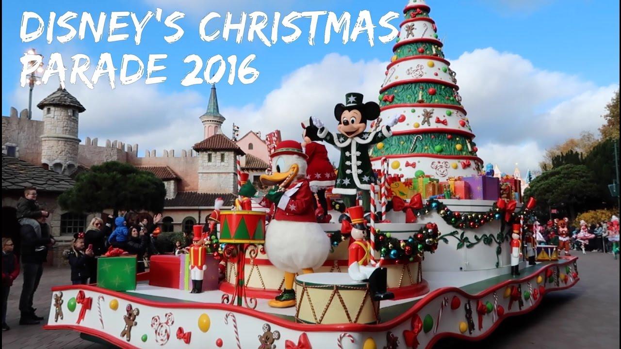 disney 39 s christmas parade 2016 disneyland paris november 2016 hd youtube. Black Bedroom Furniture Sets. Home Design Ideas