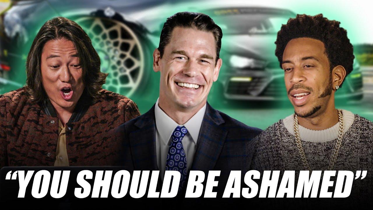 Fast & Furious 9 Stars Roast Your Cars