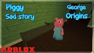 Download Lagu GEORGE PIGGY ORIGINS   Roblox Piggy Sad Story   Toxic Jim Inspiration mp3