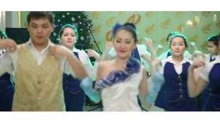 """Город Павлодар ресторан """"ASTORIA"""" Новогодний флешмоб."""