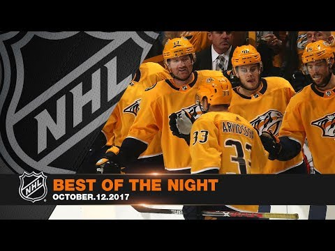 Watch the best highlights of the night from October 12