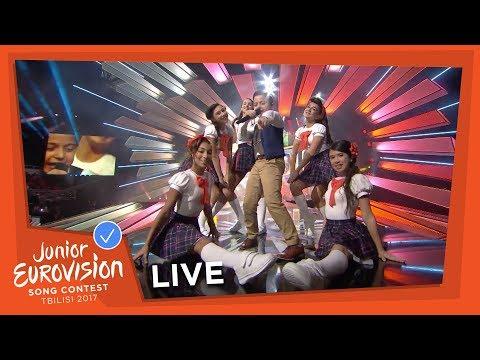 GIANLUCA CILIA - DAWRA TOND - LIVE - MALTA - JUNIOR EUROVISION 2017