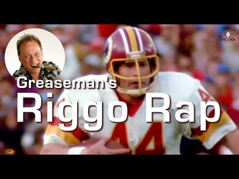 Riggo Rap by The Greaseman on DC101 in 1985 / John Riggins Highlights @riggo44 #BeatDallas #HTTR
