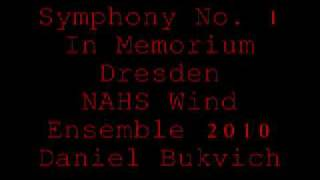 NAHS Wind Ensemble-Symphony No. 1 (In Memoriam, Dresden, 1945)