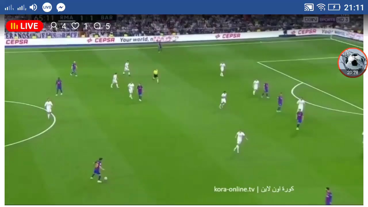real madrid vs barcelona live stream hd el clasico