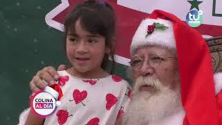 Colina al Día 10 de diciembre entrega de regalos Parque San Miguel