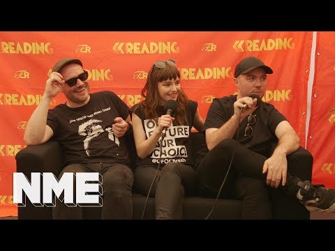 Chvrches Discuss Deftones, A Surprise Coming Later This Year, & More