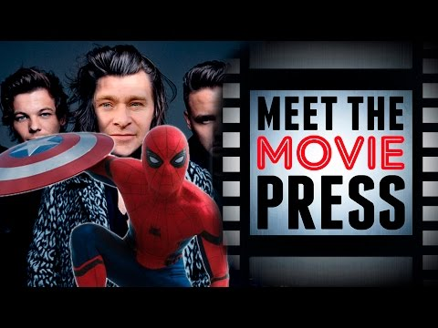 Christopher Nolan & Harry Stiles, 10Cloverfield Lane Review, Spiderman - Meet The Movie Press