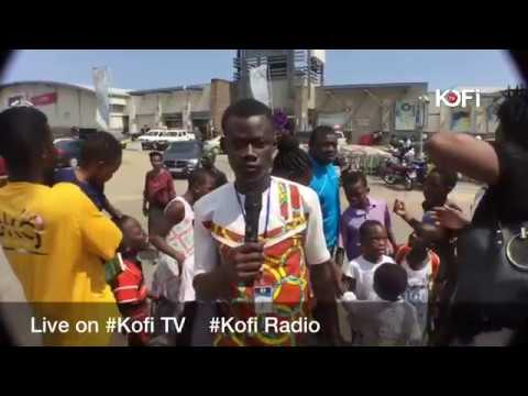 BREAKING NEWS: ACCRA MALL ROOFING & CEILING FALLS OFF. Live on #KOFITV