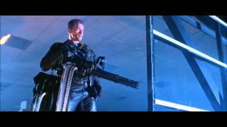 Terminator 2 - Minigun Scene (HD)
