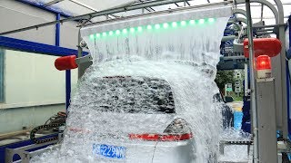 Download AUTOMATIC CAR WASH TUNNEL MACHINE WITH LAVAFALL MADE BY SHUIFU CHINA Mp3 and Videos
