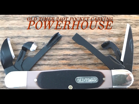 Schrade Old Timer 24OT-Pocket Carving Powerhouse