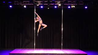 2018 US Pole Dance Championship Professional Division - Jazzy Li